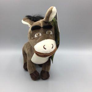 Donkey from Shrek Plush Dog Toy Squeaker